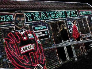 DJ Campbell back in his non-league days, and when Yeading FC still existed