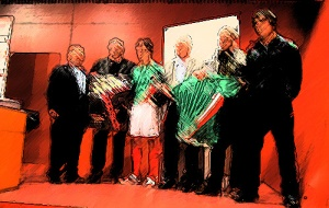 The Basque team, unrecognised by Fifa